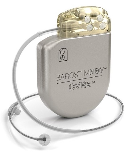 Terapia de activación Barostim Baroflex
