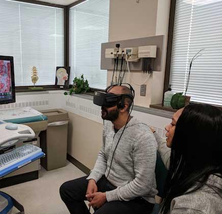 paciente de reconstrucción cerebral virtual