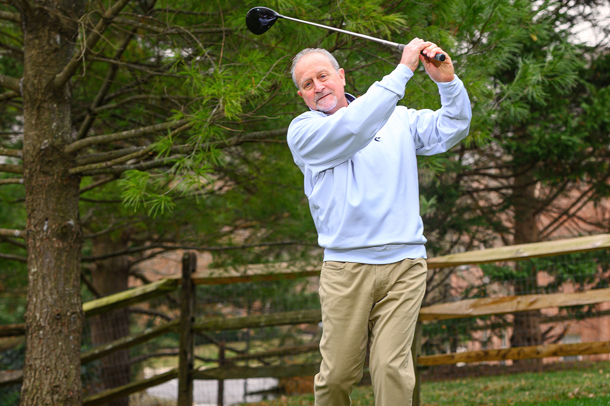 Columpio de golf Richard Weiss
