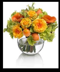 Flores en un jarrón