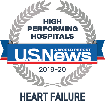 US News and World Report informa alto desempeño del hospital en insuficiencia cardíaca