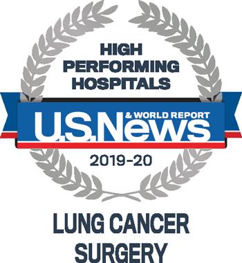 US News and World Report informa alto desempeño del hospital en tratamiento de cáncer de pulmón