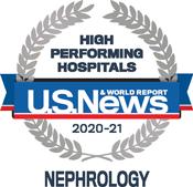 Noticias de EE. UU. E informe mundial de nefrología de hospitales de alto rendimiento
