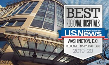 GW Hospital Rated One of the Best Regional Hospitals by U.S. News and World Report
