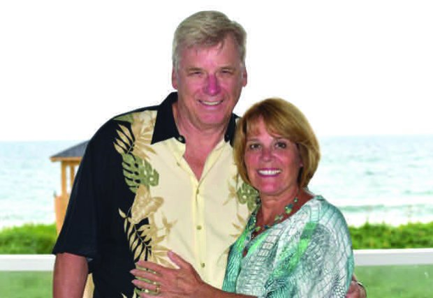 Patti Luzi and husband Pete Early
