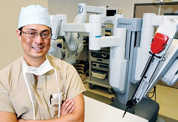 Robotic-trained Surgeons Join Forces to Perform a Rare