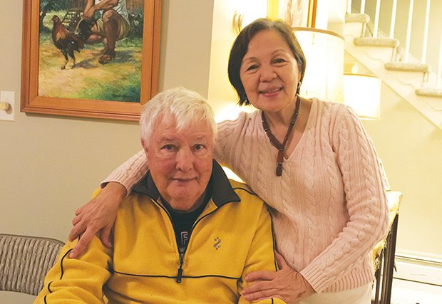 Jim Taylor survived a stroke thanks to GW Hospital