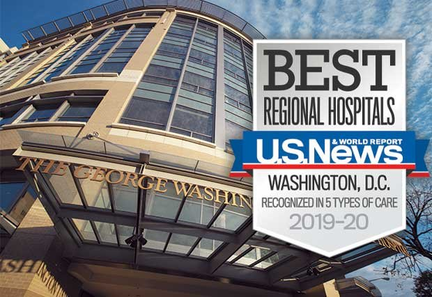 GW Hospital calificado como uno de los mejores hospitales regionales por US News and World Report