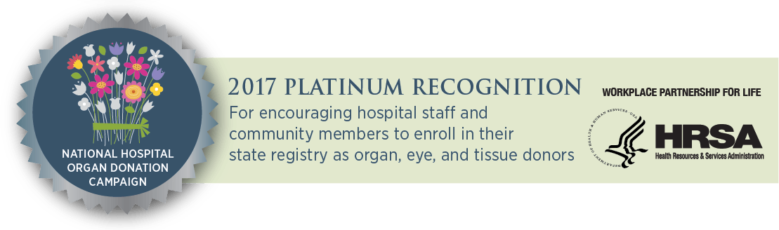 2017 Platinum Recognition